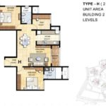 prestige-falcon-city-floor-plan-2-5-bhk-1370-sft