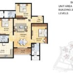 prestige-falcon-city-floor-plan-3-bhk-1800-sft