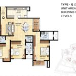 prestige-falcon-city-floor-plan-3-bhk-1861-sft