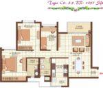 prestige-kew-gardens-2-5bhk-1357-sqft