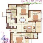 prestige-kew-gardens-3bhk-1595-sqft