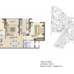 prestige_lakeside_habitat_floor_plan_2_bhk_1195_sft