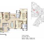 prestige_lakeside_habitat_floor_plan_3_bhk_2280_sft