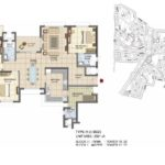 prestige_lakeside_habitat_floor_plan_3_bhk_2321_sft