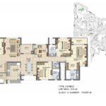 prestige_lakeside_habitat_floor_plan_4_bhk_2830_sft