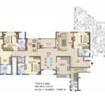prestige_lakeside_habitat_floor_plan_4_bhk_2882_sft